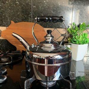 Simplex Kensington Chrome Traditional Tea Kettle